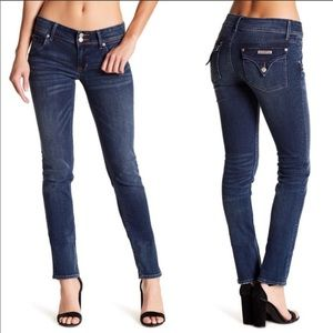 HUDSON midrise Collin skinny jeans